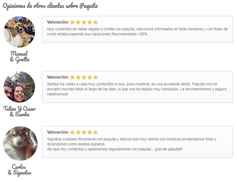 Opiniones Paquita Port Aventura