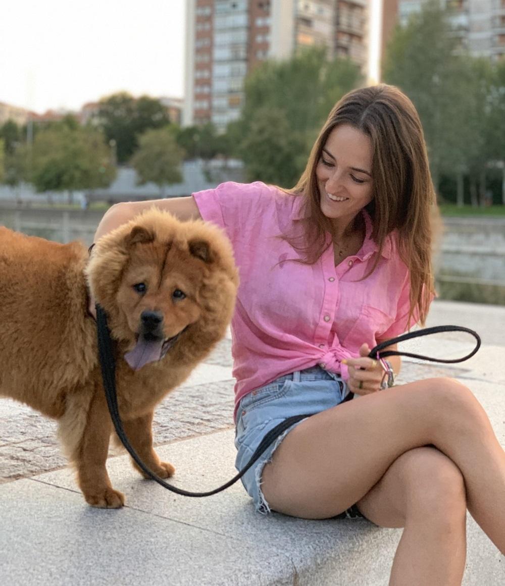 Inés y un buen amigo